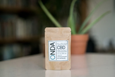 ONDA CBD Capsules Coconut