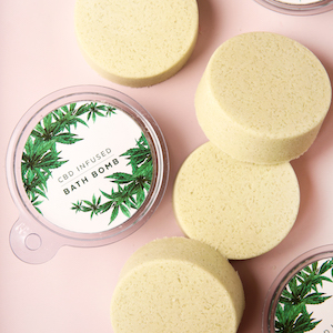 CBD-Infused Bath Bombs with ONDA Wellness Full Spectrum CBD Oil