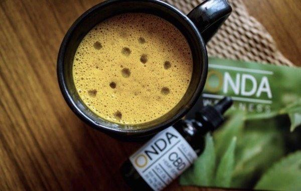 ONDA CBD Oil infused Latte