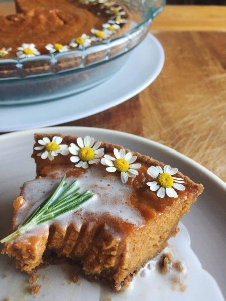 Whole Hemp CBD-Infused Graham Cracker Chamomile Pie Crust ONDA Wellness